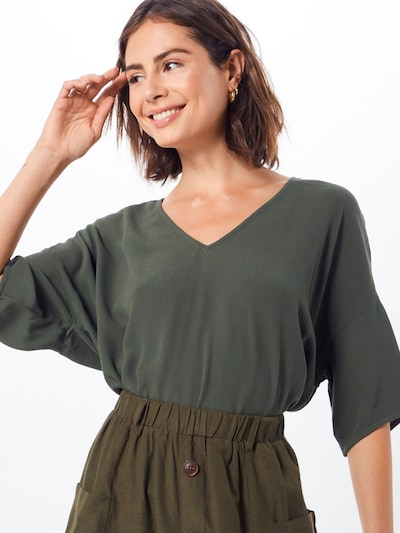 Samsoe Samsoe Shirt in grün, Modelansicht