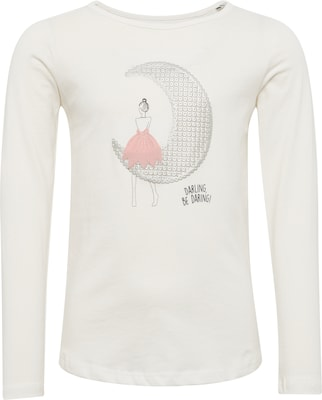 TOM TAILOR Langarmshirt 'longsleeve with moon girl'