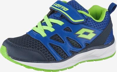 LOTTO Schuhe in blau / neongrün, Produktansicht