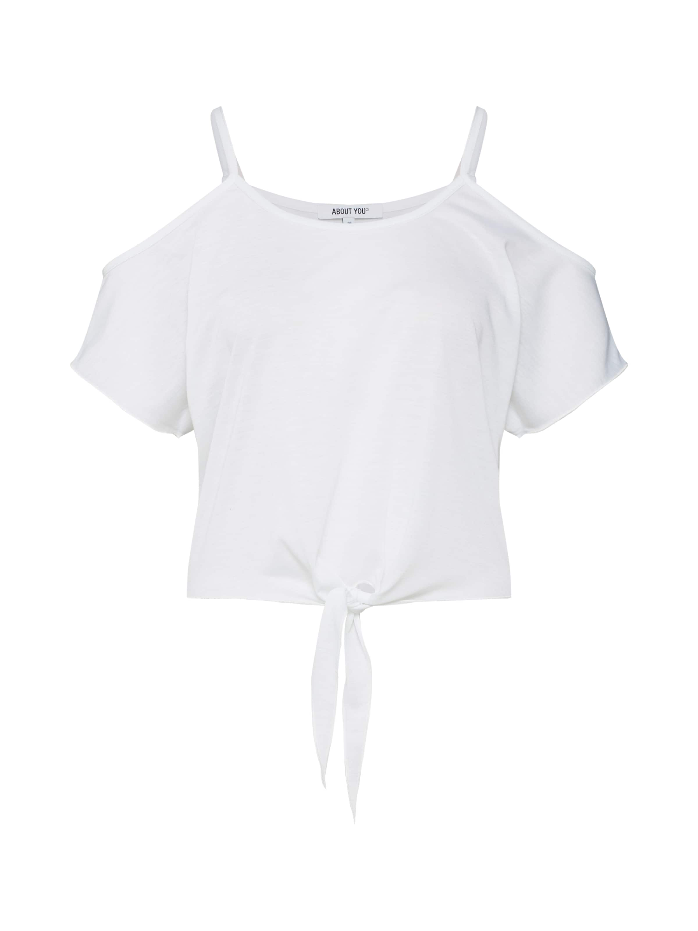 shirt Blanc T 'tessa' About En You nONvm80w