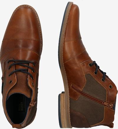 Suvarstomieji batai 'Schnürstiefel' iš BULLBOXER , spalva - karamelės: Vaizdas iš šono