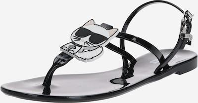 Karl Lagerfeld Japonke 'JELLY Karl Ikonic' | črna barva, Prikaz izdelka