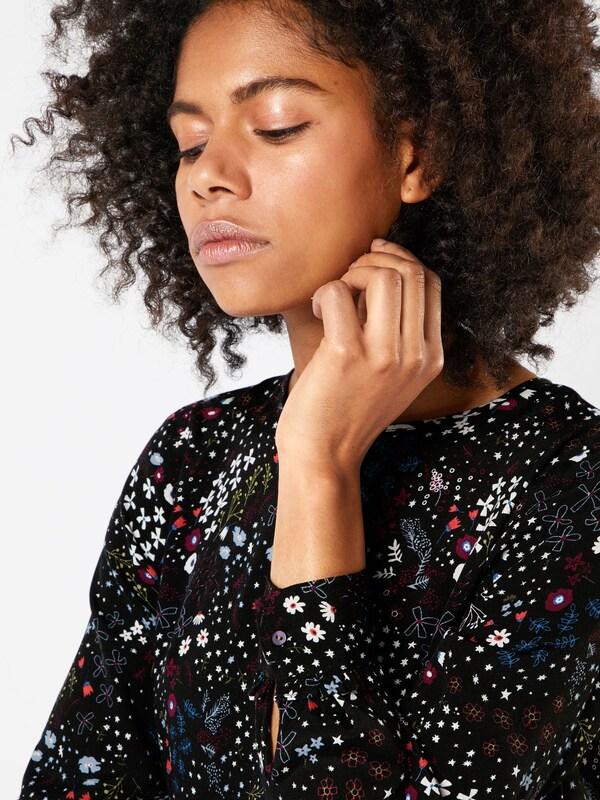 TOM TAILOR DENIM Midi-Kleid mit Print