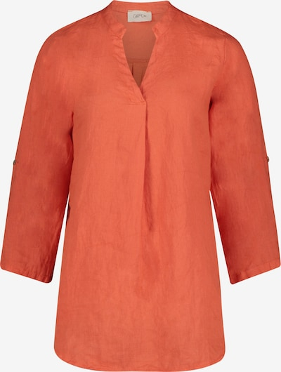 Cartoon Casual-Bluse langarm in orange: Frontalansicht