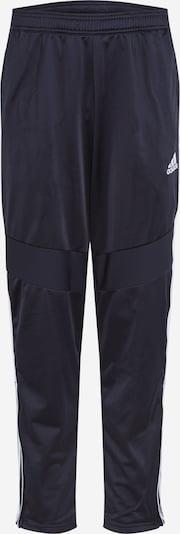 ADIDAS PERFORMANCE Pantalon de sport 'Tiro 19' en noir / blanc, Vue avec produit