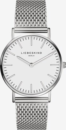 Liebeskind Berlin Analoog horloge in de kleur Zilver / Wit, Productweergave