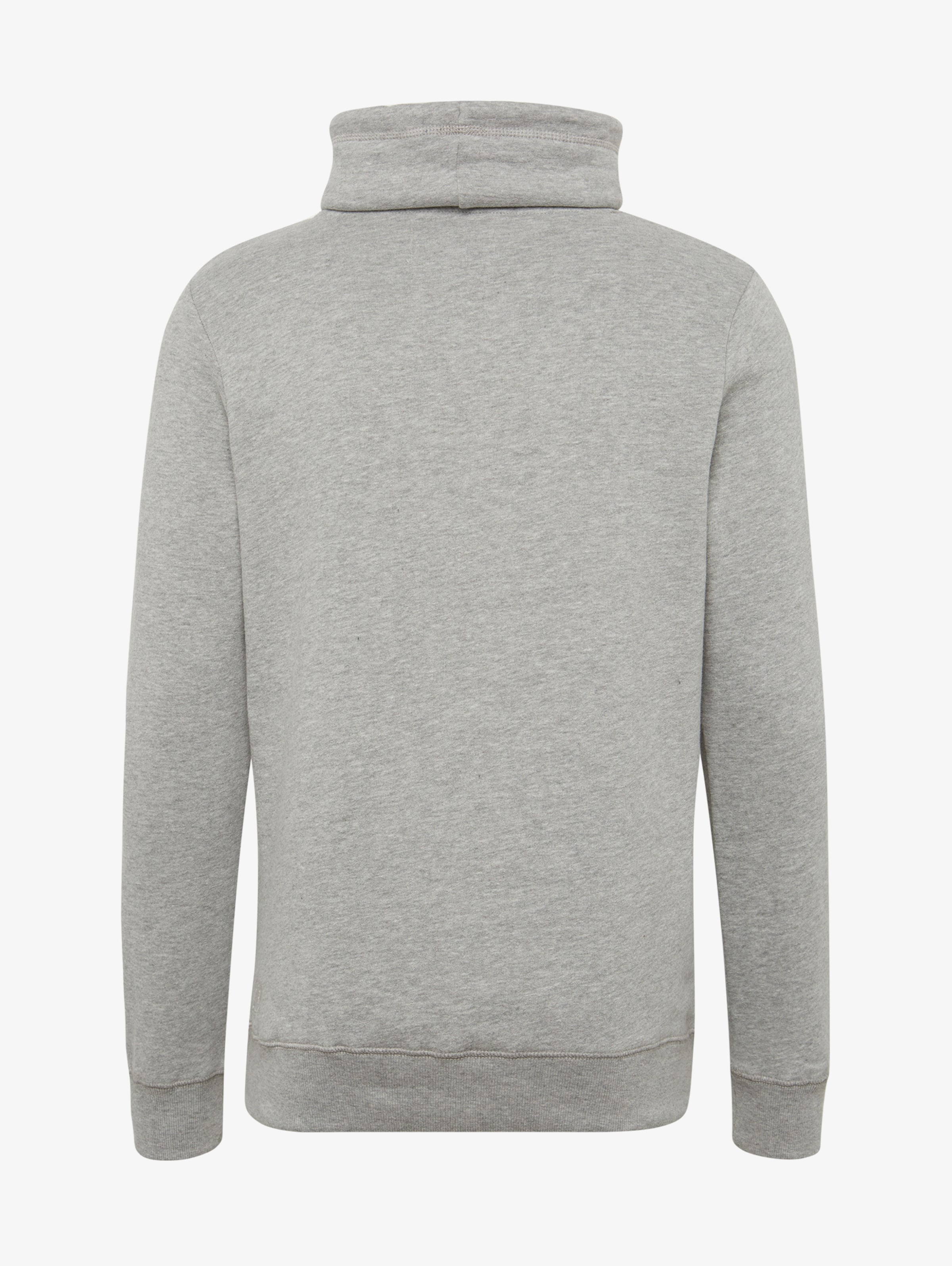 Tailor Tom GraumeliertSchwarz Denim Sweatshirt In qSMVpzU