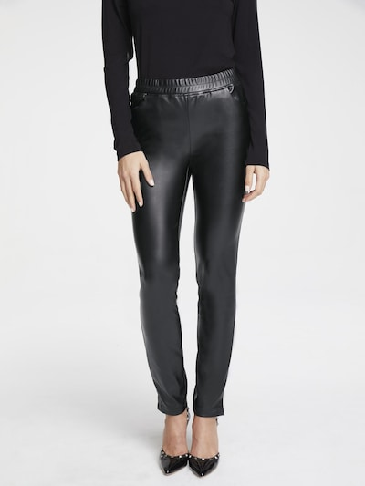 heine Leggings in schwarz, Modelansicht