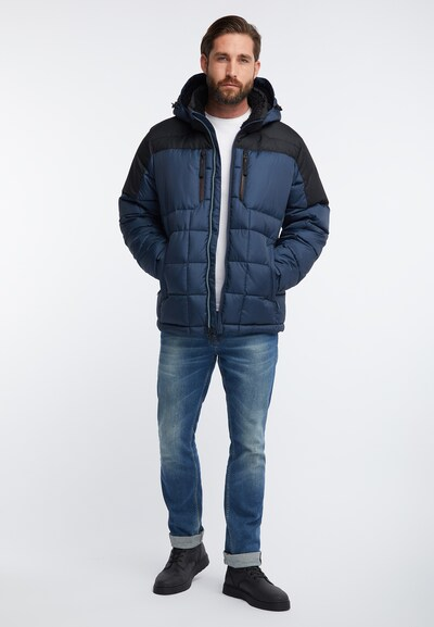 Hawke & Co Jacke in dunkelblau / schwarz, Produktansicht