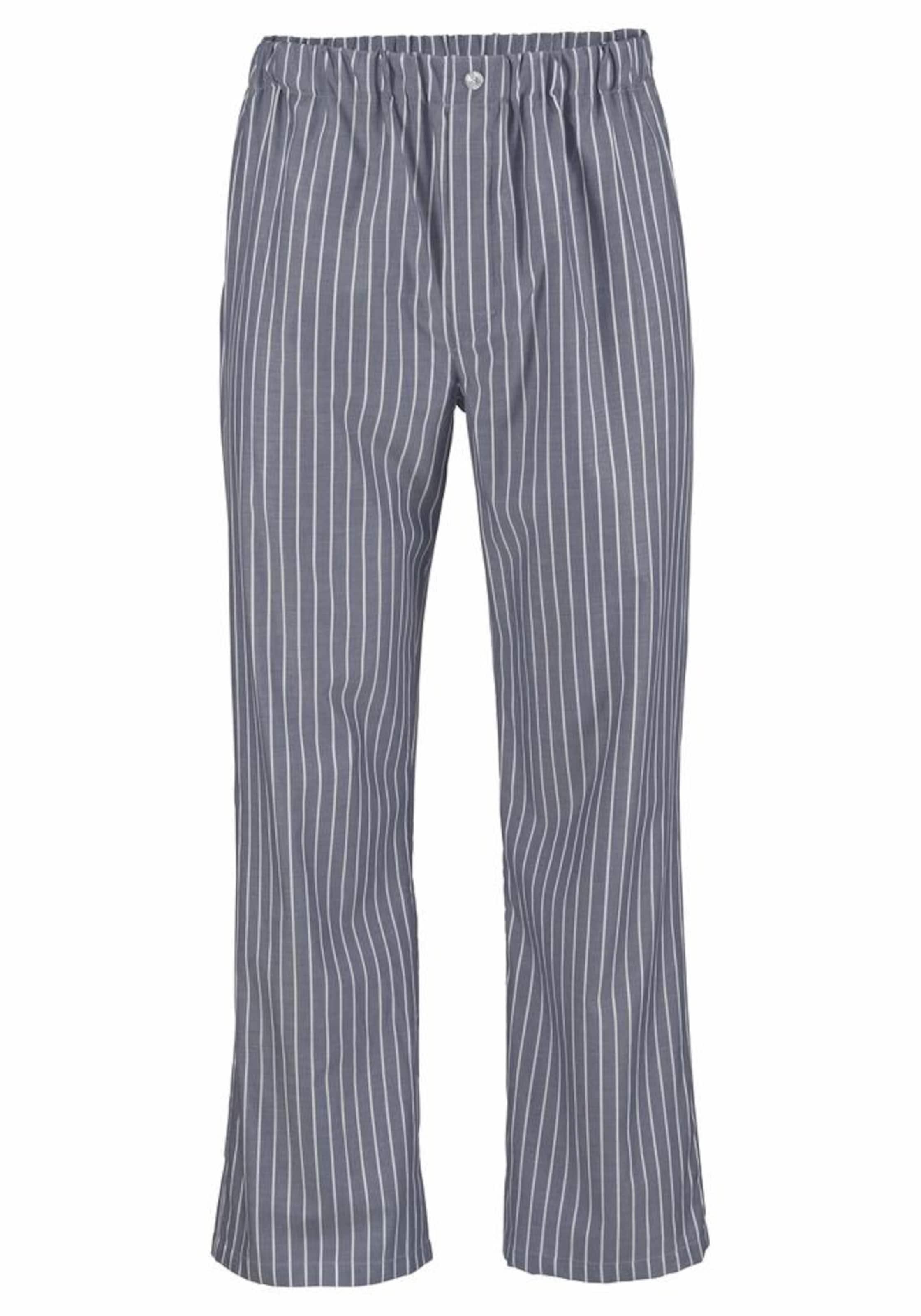 SEIDENSTICKER Web Pyjama lang mit Streifen Billige Breite Palette Von Billig Verkauf Versand Niedriger Preis Gebühr Verkauf Suchen U2ESRSS0DS
