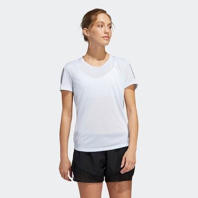 ADIDAS PERFORMANCE T-Shirt 'Own the Run' in azur / grau: Frontalansicht