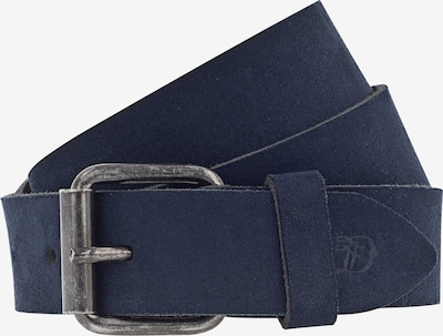 TOM TAILOR DENIM Ledergürtel in navy, Produktansicht