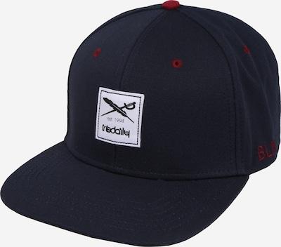 Iriedaily Cap 'Daily Flag 20' in blau / weinrot / schwarz / weiß, Produktansicht