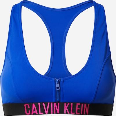 kék / világospiros Calvin Klein Swimwear Bikini felső, Termék nézet
