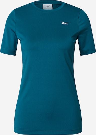 REEBOK T-shirt fonctionnel en turquoise / blanc, Vue avec produit