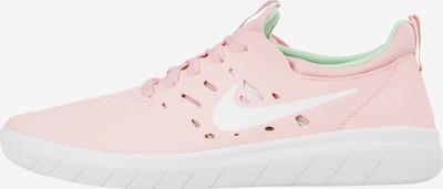 Nike SB Sneakers laag 'Nyjah Free' in de kleur Lichtroze / Wit, Productweergave