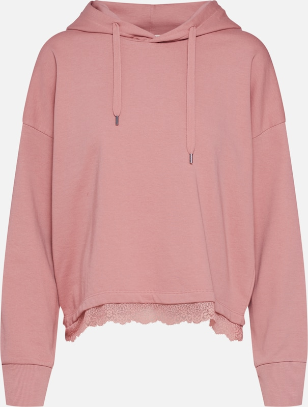 ABOUT YOU GOTS Sweatshirt 'Charleen' in rosa, Produktansicht