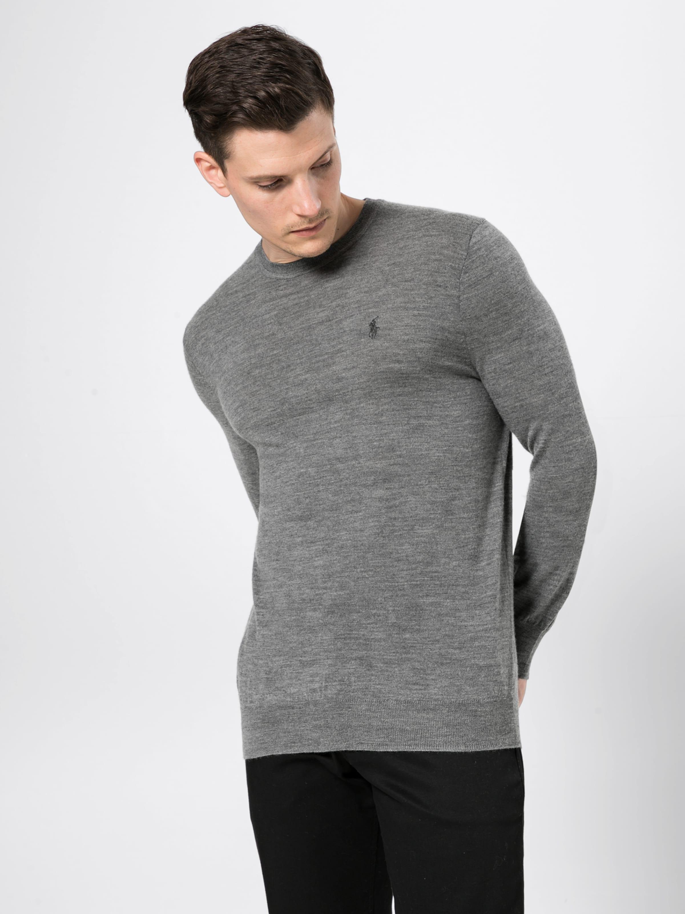 Pullover Ralph Lauren Grau Polo In PXkZiOu