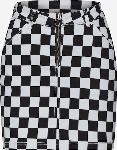 Urban Classics Skirt in Black / White, Item view