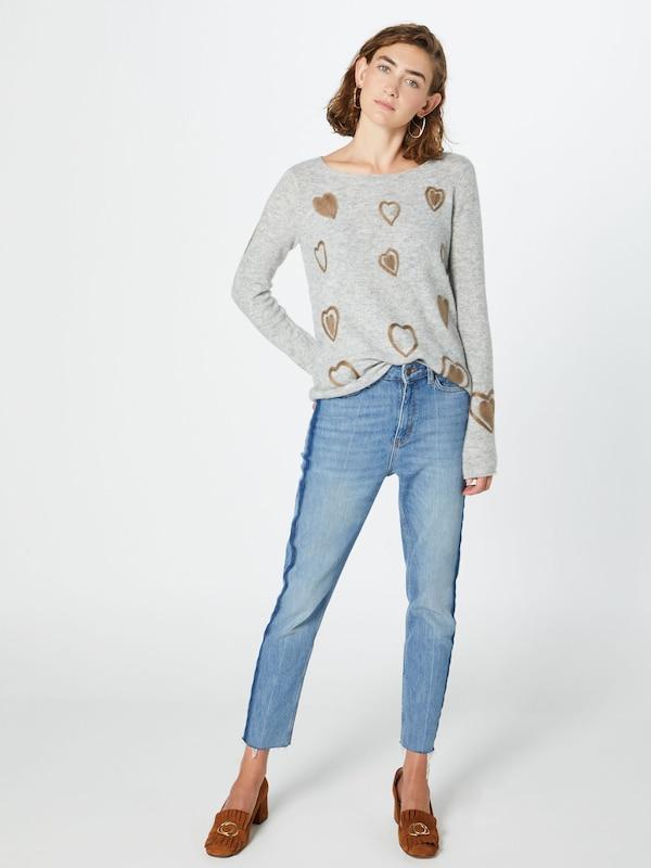 PRINCESS GOES HOLLYWOOD Pullover Pullover Pullover in hellbraun   grau  Bequem und günstig 8eef39