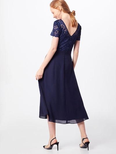 Kokteilinė suknelė iš SWING , spalva - tamsiai mėlyna jūros spalva: Vaizdas iš galinės pusės