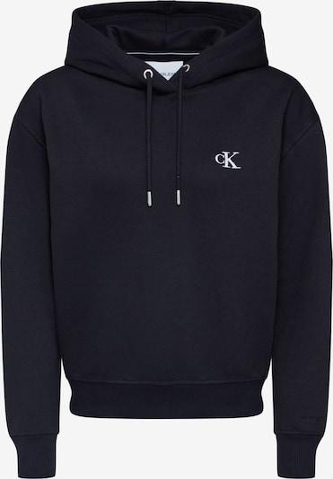 Calvin Klein Jeans Sweatshirt 'CK EMBROIDERY HOODIE' in schwarz, Produktansicht