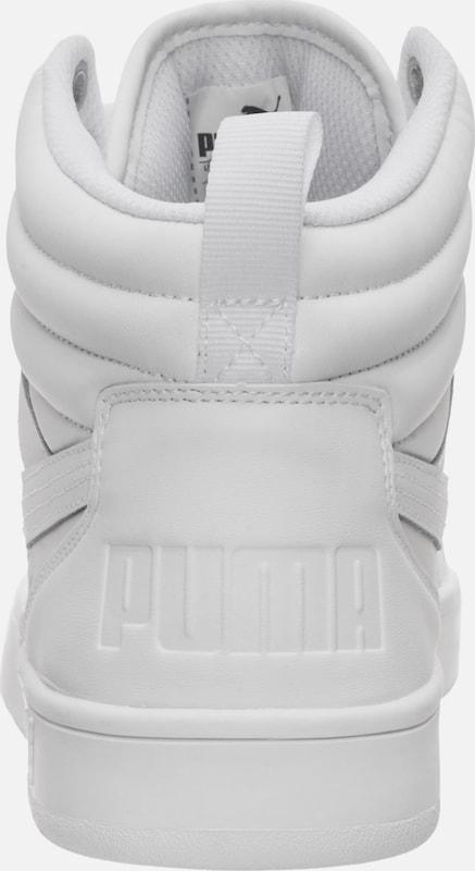 'rebound Baskets En Blanc Puma Hautes Stree' rxBoWQCde