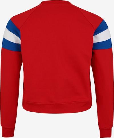 Urban Classics Curvy Sweat-shirt en bleu / rouge / blanc: Vue de dos
