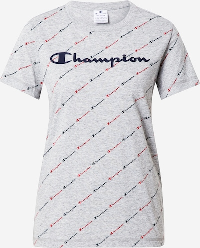 Champion Authentic Athletic Apparel Särk mariinsinine / meleeritud hall / punane: Eestvaade