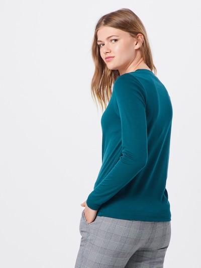 basic apparel Shirts & Tops 'Laila LS tee' in petrol: Rückansicht