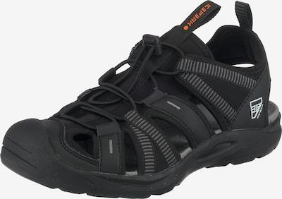 ICEPEAK Sandale in schwarz, Produktansicht