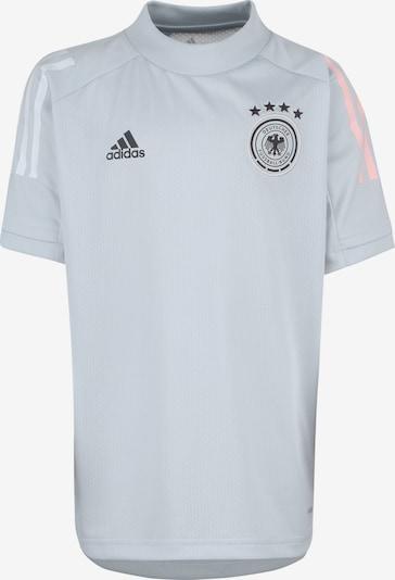 ADIDAS PERFORMANCE Shirt in hellgrau / weiß, Produktansicht
