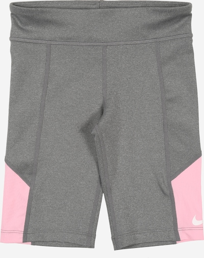 NIKE Shorts 'Nike Trophy' in grau / pink / weiß, Produktansicht