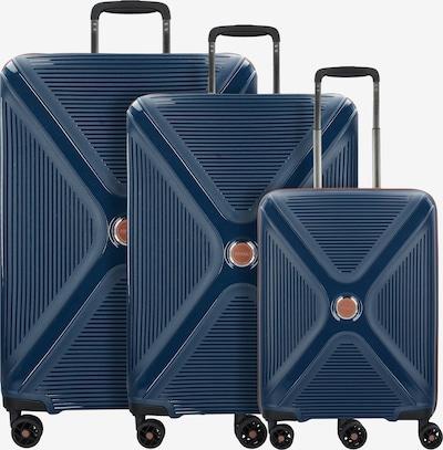 TITAN Ensemble de bagages 'Paradoxx' en bleu marine / noisette, Vue avec produit