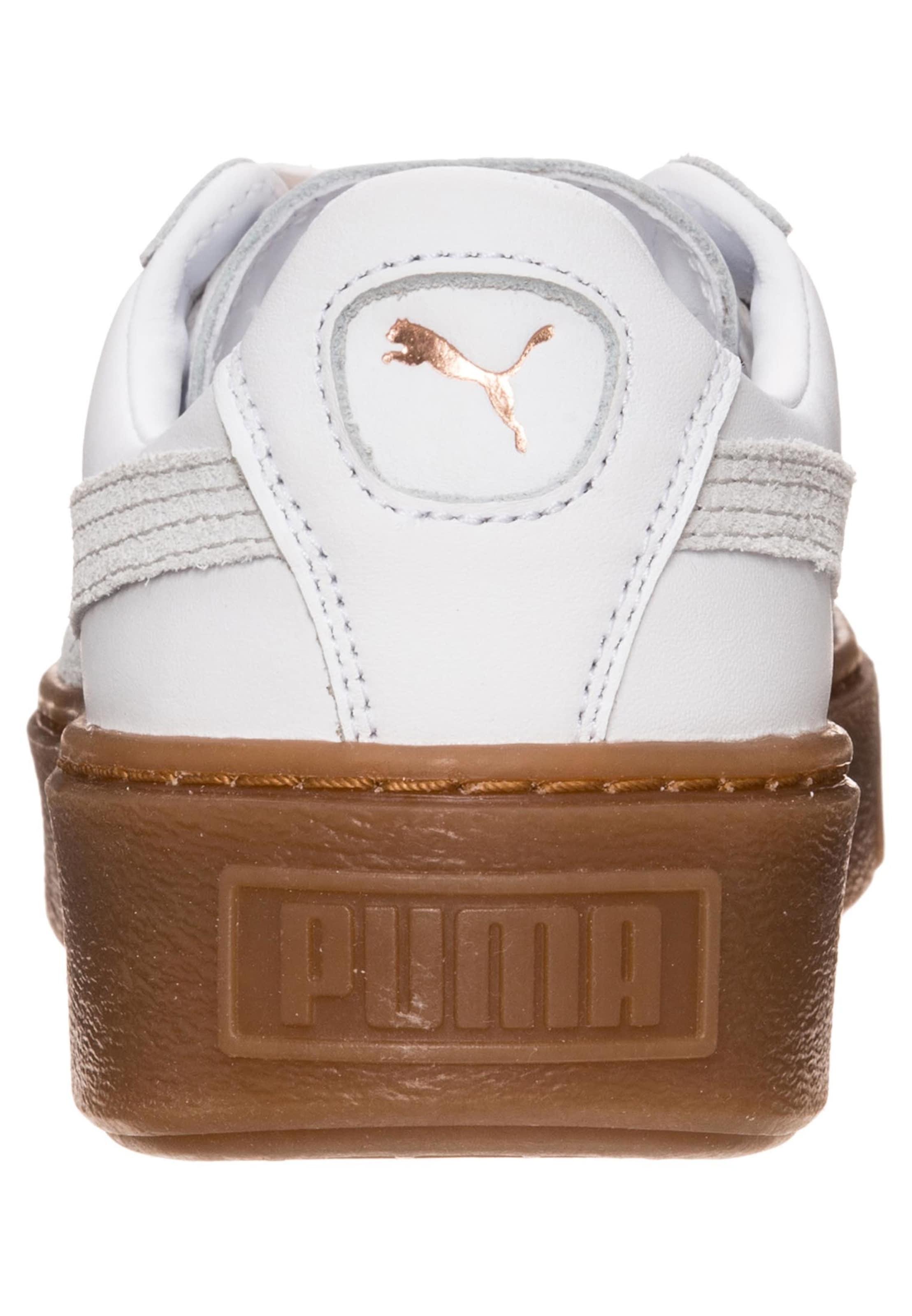 PUMA 'Basket Platform Euphoria Gum' Sneaker Damen Niedriger Versand Günstig Online Günstig Kaufen 2018 Neue Verkauf Footaction Freies Verschiffen Extrem xbsRBf