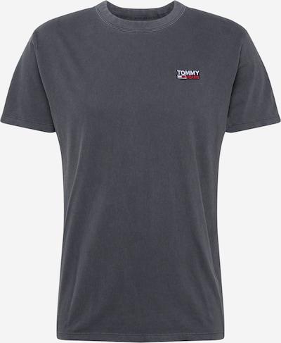 Tommy Jeans T-Shirt in rot / schwarzmeliert / weiß, Produktansicht