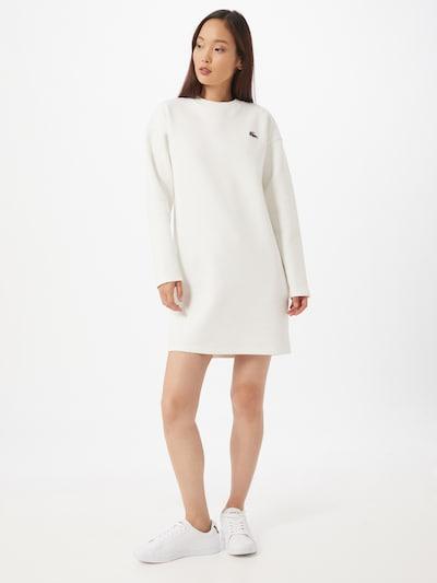 LACOSTE Košilové šaty - bílá, Model/ka