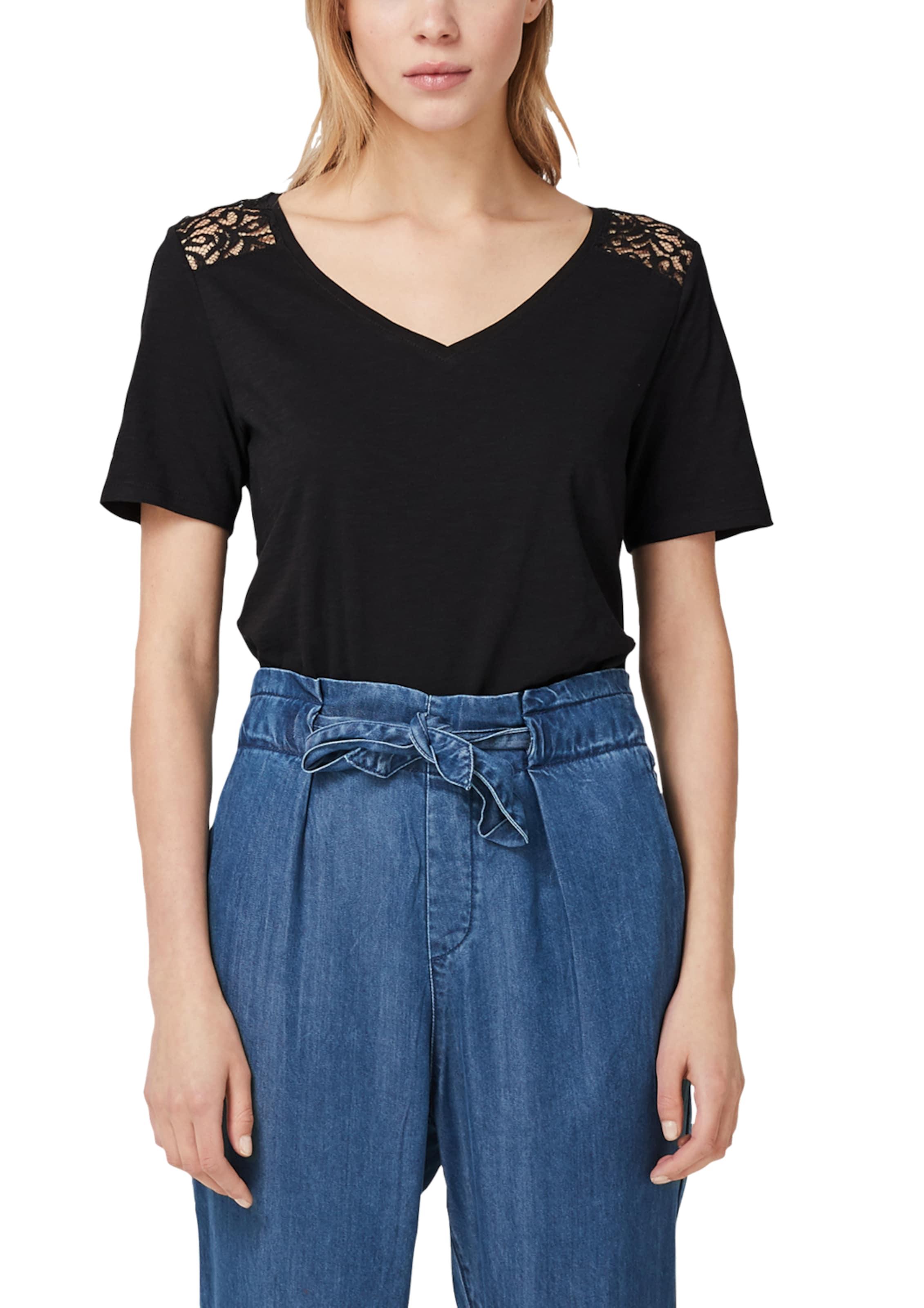 S oliver S Shirt In Schwarz oliver Shirt 5L4ARj