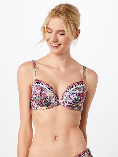 watercult Bikinitop in de kleur Gemengde kleuren, Modelweergave