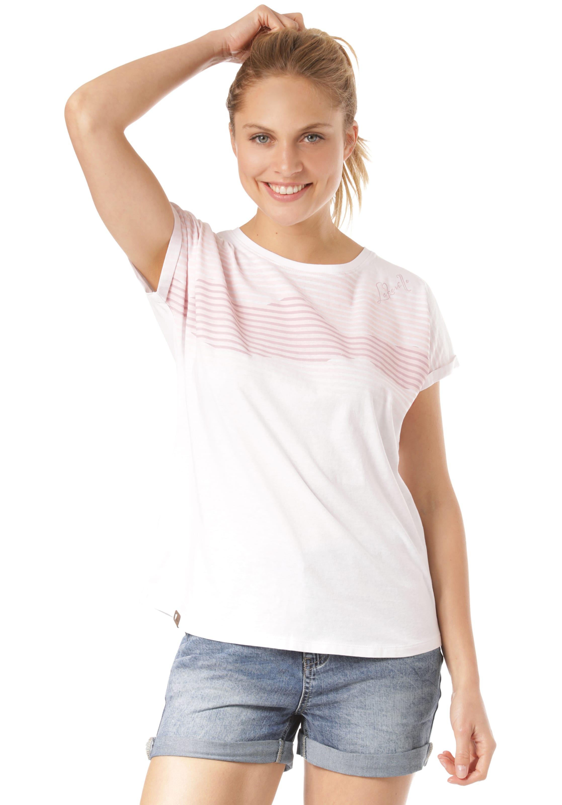 Lakeville In Mountain T 'waanje' shirt RosaWeiß 4AL5j3Rq
