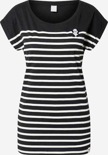 Iriedaily Majica 'Panda' u crna / bijela, Pregled proizvoda