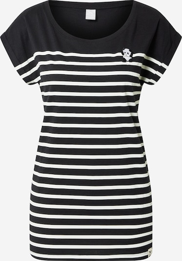Iriedaily Shirt 'Panda' in schwarz / weiß, Produktansicht