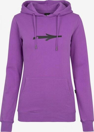 Illmatic Sweatshirt in de kleur Neonlila / Zwart, Productweergave
