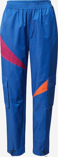 Pantaloni 'Alicia' Cecilie Copenhagen pe albastru / portocaliu / roșu, Vizualizare produs
