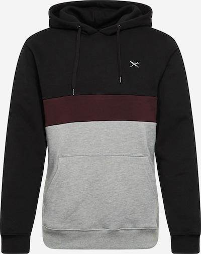 Iriedaily Sweatshirt in grau / rot / schwarz, Produktansicht