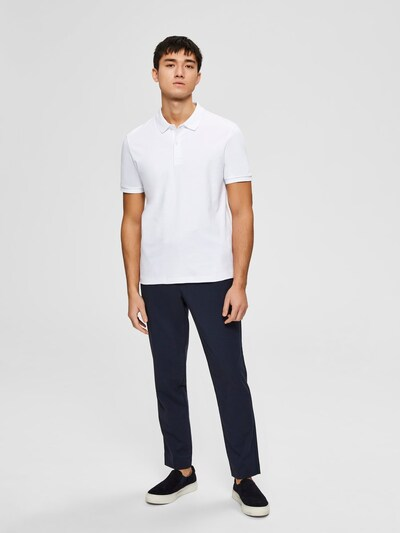 SELECTED HOMME Majica 'Paris' u bijela: Prednji pogled