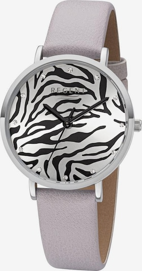 REGENT Analog Watch 'BA-654 3225.78.11' in Light grey / Silver, Item view