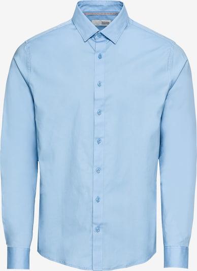 !Solid Hemd 'Shirt - Tyler LS' in hellblau, Produktansicht