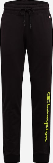 Champion Authentic Athletic Apparel Sweatpants 'RIB CUFF' in gelb / schwarz, Produktansicht