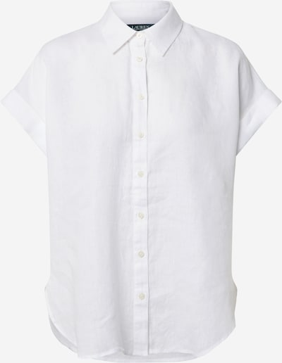 Lauren Ralph Lauren Blouse 'BROONO-SHORT SLEEVE-SHIRT' in de kleur Wit, Productweergave